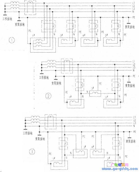 漏电保护器接线方法