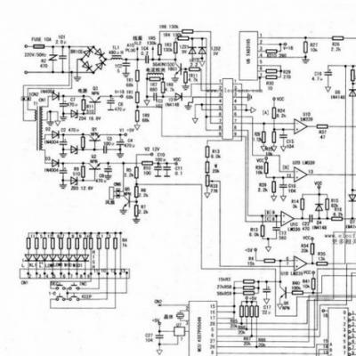 电磁炉电路图是怎样的,其优点是什么?